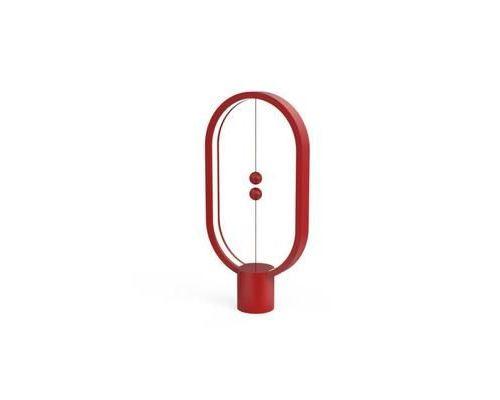 Lampe Heng Balance LED USB avec interrupteur magnétique rouge