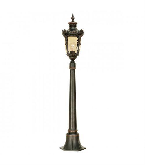 Lampadaire Philadelphia, bronze antique, 116 cm