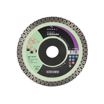 125 x 22,23 mm PRODIAMANT Disque /à tron/çonner diamant tuile 125mm