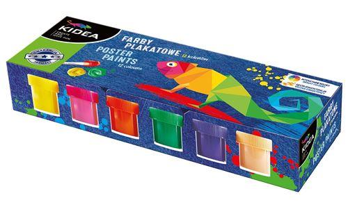 Kidea peinture 12 couleurs 20 ml