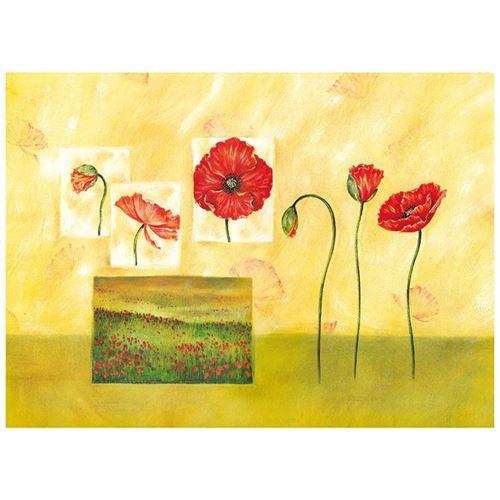 Planche a decouper fleurs 40x50cm tuftop 4050 pfl