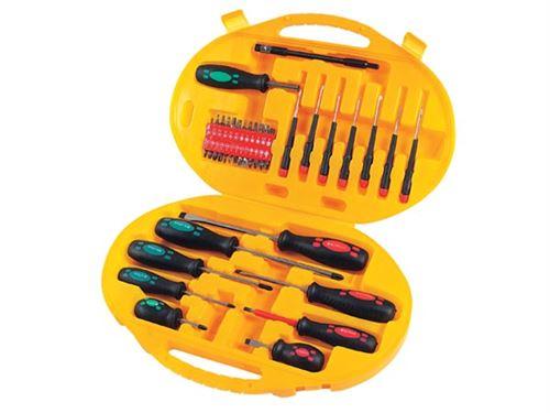 Mallette à outils d'outils 34 pièces