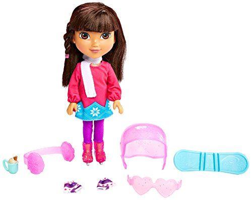 Fisher-Price Nickelodeon Dora Friends, thème d'hiver Dora