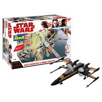 Jeu de construction Revell Build & Play Star Wars Ep VIII Poe's Boost X-Wing Fighter