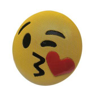 Vshop Bluetooth Speaker Emoji Kiss Enceinte Emoticon Bisou Mp3 Micro Usb Bluetooth Haut Parleur Enceinte Bibliotheque Achat Prix Fnac