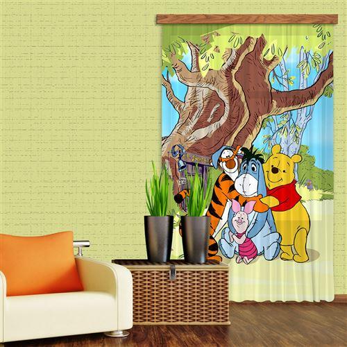 Rideaux Winnie l'Ourson Câlin Disney-Occultant : 140x245 cm