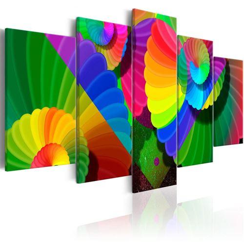 Artgeist - Tableau - Twisted Colours 200x100
