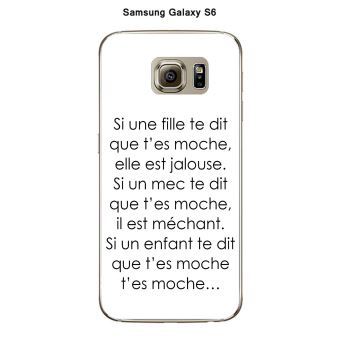 samsung galaxy s6 coque fille