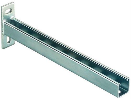 Console FCA - FCA 450 - 41/41 perforé - longueur : 450 mm