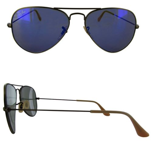 ray ban aviator bleu flash