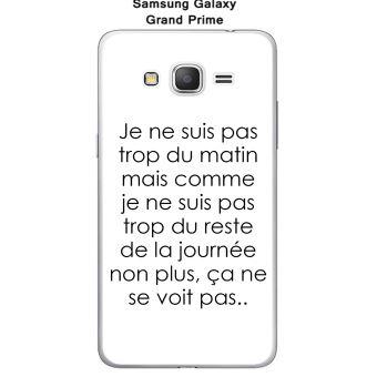 Onozo - Coque Samsung Galaxy Grand Prime-G530 - SM-G531F design Citation