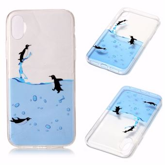 coque iphone x eau