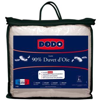 Couette 90 Duvet Doie Chaude Dodo Blanc 200x200 Cm Achat Prix