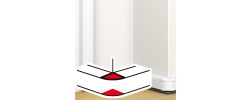 angle legrand 50x130 extérieur 80°-100° goulotte clippage directe