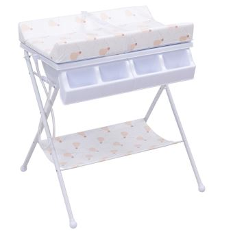 Table langer avec baignoire b b pliable commode avec matelas langer commodes et plans - Table a langer avec commode ...