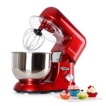 100 sur klarstein bella rossa robot de cuisine patissier multifonction 1200w bol 5 litres. Black Bedroom Furniture Sets. Home Design Ideas