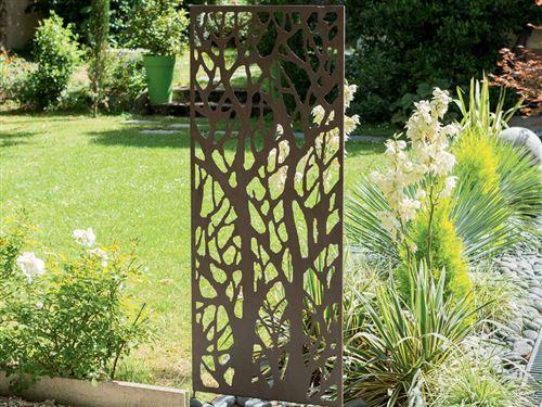 Panneau décoratif ajouré - Accessoires mobilier de jardin - Achat ...