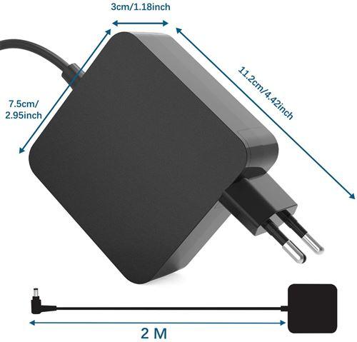 NEW POW 65W Ordinateur Portable Adaptateur Chargeur pour ASUS K55 K55A K55D K55DE K55DR K55N K55V K55VM K55VD K55VJ