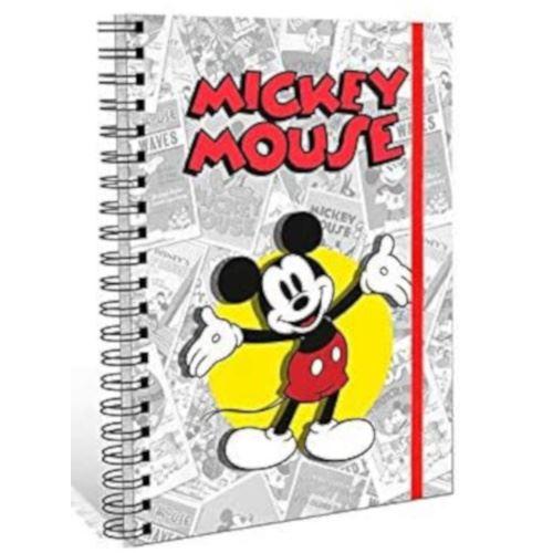 Mickey carnet A5 carton/papier gris