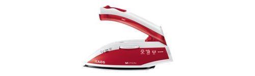 AEG DBT800 Motion - Fer à vapeur - semelle : acier inoxydable - 800 Watt - rouge passion