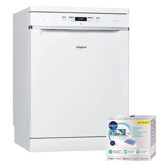 prix compétitif 24b02 49e79 whirlpool lave-vaisselle posable blanc 42db a++ 14 couverts 60cm 6eme sens