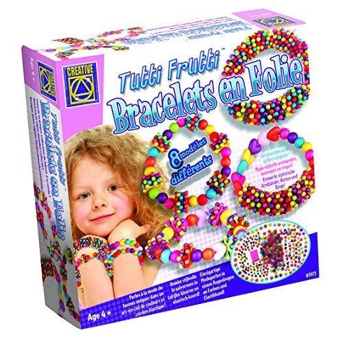 Creative toys - ct 5973 - loisirs créatifs - bracelets en folie tutti frutti