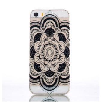 coque iphone 8 mandala noir
