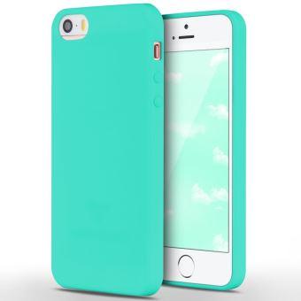 coque iphone 6 plastique bleu