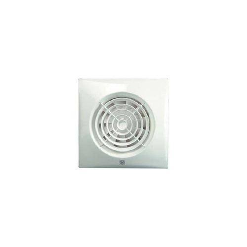 Aerateur ultra silencieux 280m3h extra plat clapet antiretour/temporisation/hygrostat - unelvent - blanc
