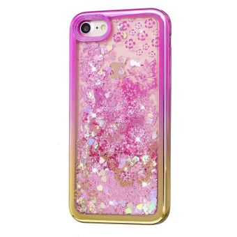 coque iphone 7 brillant rose