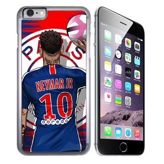 Coque pour iPhone 7 PLUS neymar psg cartoon