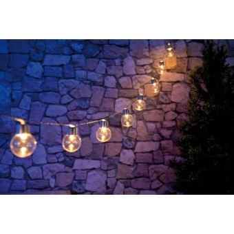 Guirlande Lumineuse Solaire à Led Design Ampoule Classique 3 80m