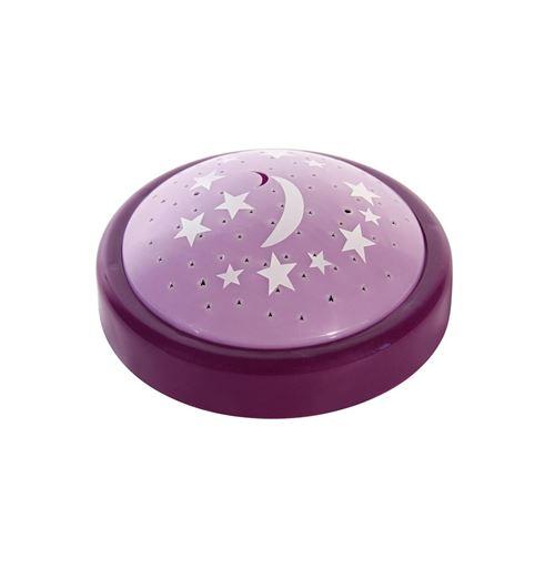 Veilleuse projection - Violet - Lampe couleur changeante