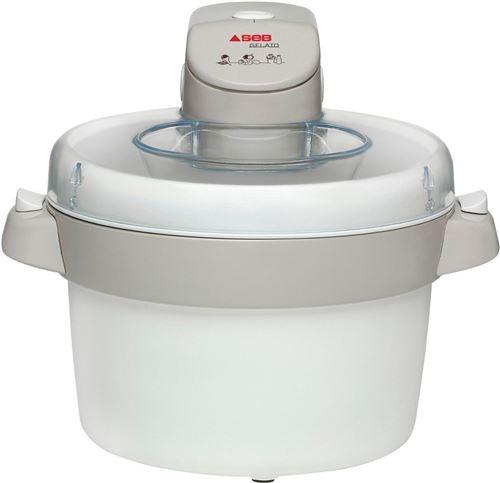 Sorbetière Seb Gelato IG500131 1 L Blanc