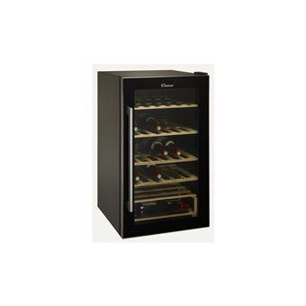 candy ccva 200 gl cave vin pose libre noir achat. Black Bedroom Furniture Sets. Home Design Ideas