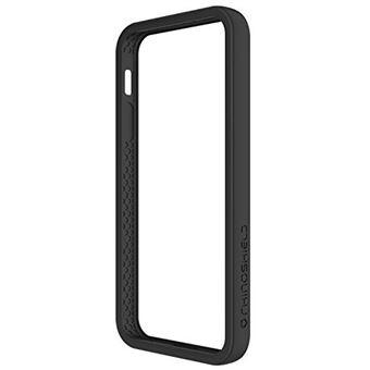 RhinoShield Coque pour iPhone 5 5s SE Bumper Rashguard Houe Fine avec Technologie Absorption des Chocs Resiste aux Chutes de Plus DE 3 5 metres Noir