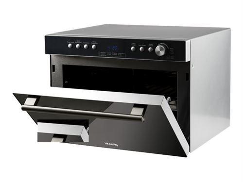 H.Koenig VIO34 - Four micro-ondes combiné - grill - pose libre - 34 litres - 900 Watt - miroir/inox