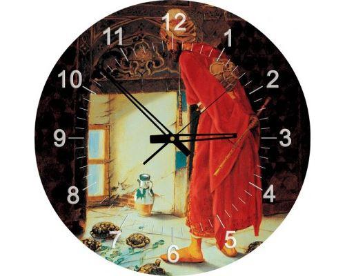 Puzzle 570 Pièces : Puzzle Horloge - Osman Hamdi Bey : Le Dresseur de Tortues (Pile non fournie), Art Puzzle