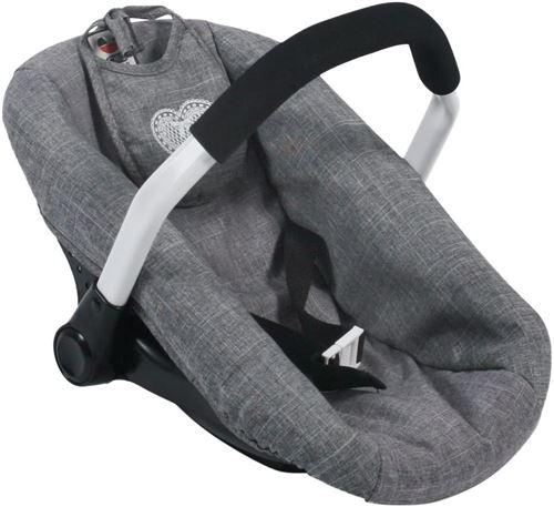 Bayer Chic 2000 708 76 Siège auto pour poupées - Coloris 76 Jeans Grey