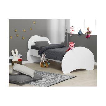 lit enfant alta 90x190 chambrekids blanc lit pour enfant achat prix fnac - Lit Enfant 90x190