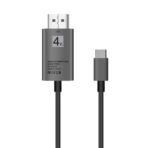 Type-C Usb3.1 pour Usb-C 4K 2K Câble Adaptateur Hdmi pour Samsung Galaxy S8 / S9 Plus ZJT048