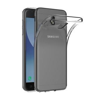 Samsung Galaxy J7 2017, Coque Silicone Fine Souple Ultra Slim