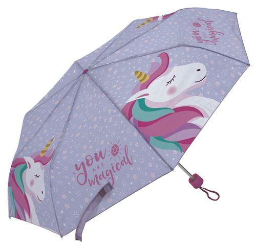 Arditex parapluie pour enfants Licorne 91 cm polyester violet
