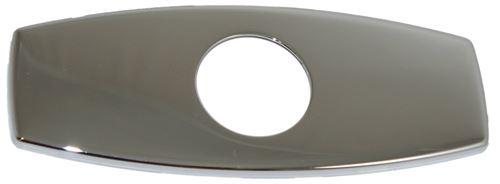 Plaque d'obturation 16cm chromée Ramon Soler référence PCA4.