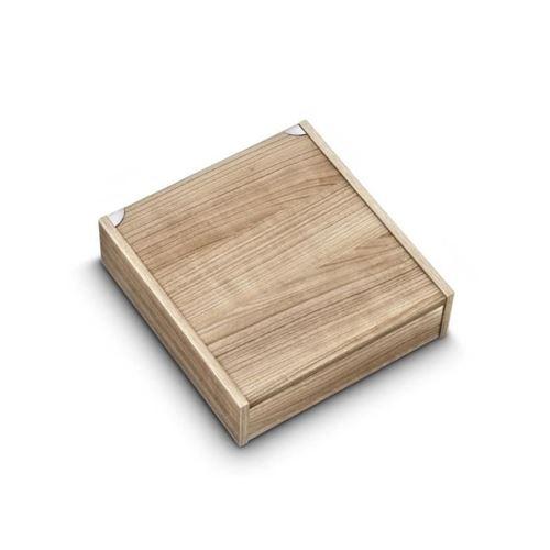 ALBERT DE THIERS Coffret en bois pour ménagere 48 pieces céruse vide