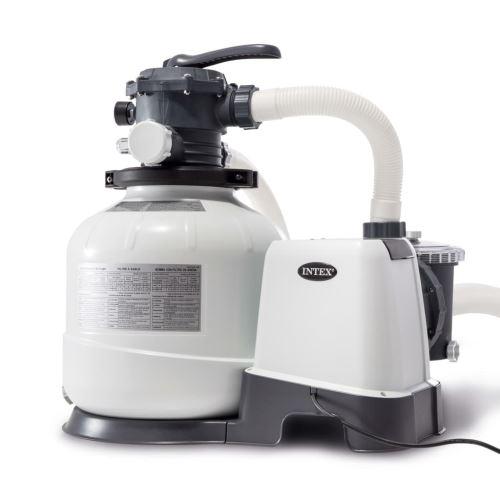 Pompe de Filtration à Sable Krystal Clear 10 500 L / h Pour Piscines hors Sol