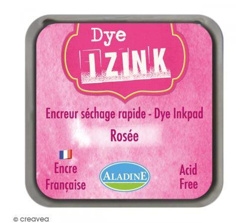 Encreur Izink Dye - 20 coloris - 4,5 x 4,5 cm