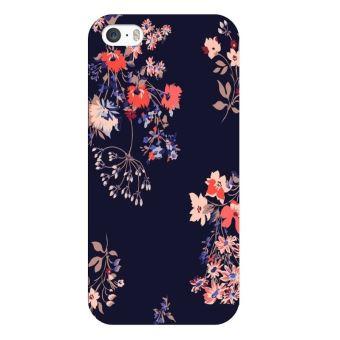 coque iphone 8 noir fleur