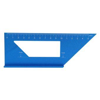 Règle de scribe de travail du bois en alliage d/'aluminium 45//90 degrés Règle