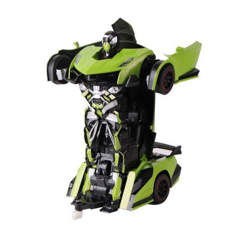 ROBOT VOITURE justice fighter vert